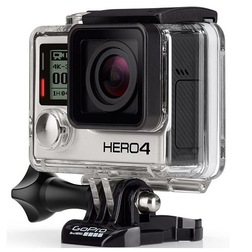 Buy GoPro HERO4 Most Versatile Camera 12 Megapixel Action In Silver At Lowest Price Kuwait