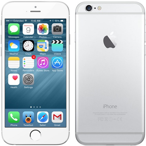 Apple Iphone 6s Plus 128gb 4g Silver Buy Apple Iphone 6s Plus