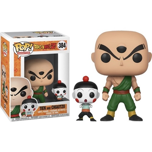 New Toy & Buddy: DragonBall Z Chiaotzu and Tien FUNKO POP Vinyl Figure