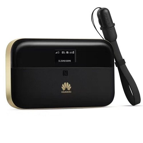 Huawei Mobile WiFi 4G-LTE Portable Router - Black Gold