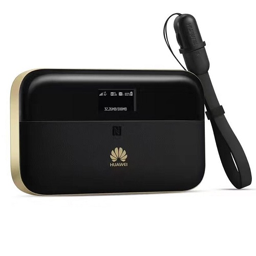 Huawei Mobile WiFi 4G-LTE Portable Router - Black Gold | BEST