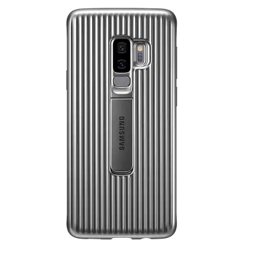 huge discount 8d0e4 9cef4 Samsung Galaxy S9 Plus Protective Standing Cover Sliver | Best.Com ...