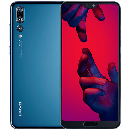 Huawei P20 Pro Dual SIM - 128GB, 4G LTE, Midnight Blue