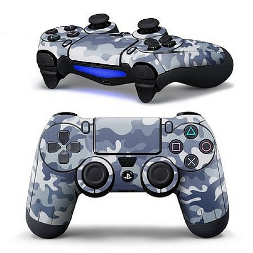 a1b2f0132 Image for Playstation 4 Controller Blue Camo from BEST