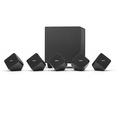 Best Home Theater Speakers 2020 Denon SYS2020BKE2 5.1 Home Theater Speaker System | Best