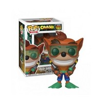 Stylized collectable stands 3 ¾ inches tall, perfect for any Crash Bandicoot fan!