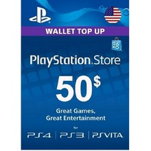 PlayStation Network Card 50$ US Account